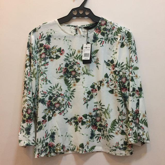 SM Printed Floral Top