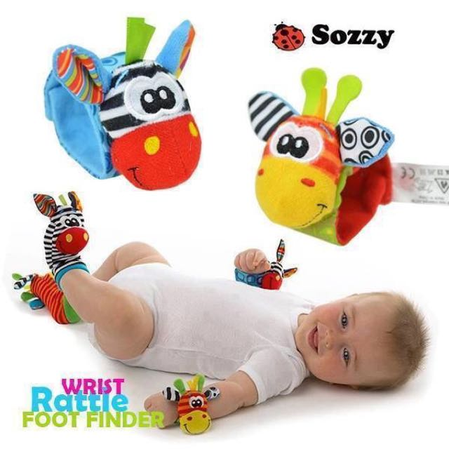 Sozy And Lamaze Wrist And Foot Finder