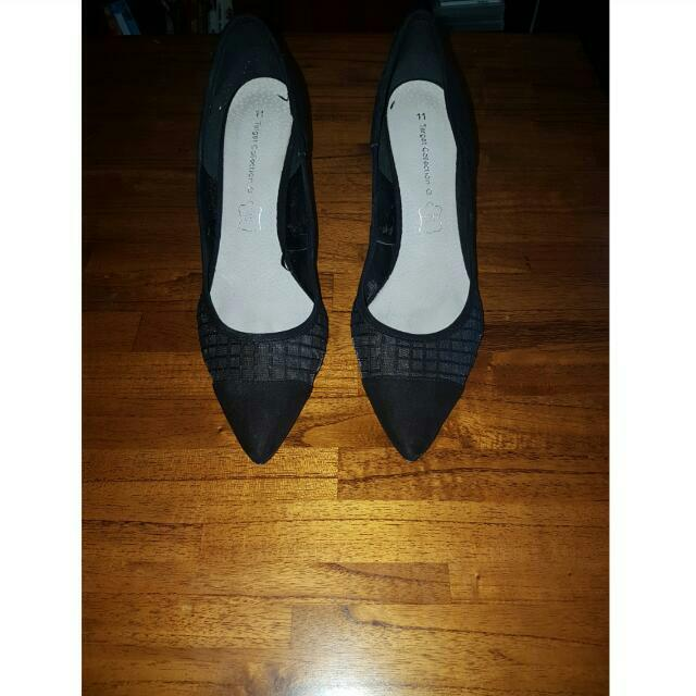 Target Collection Black Stiletto Heels