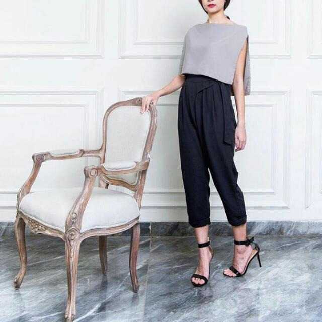 top and pants from ball and belly
