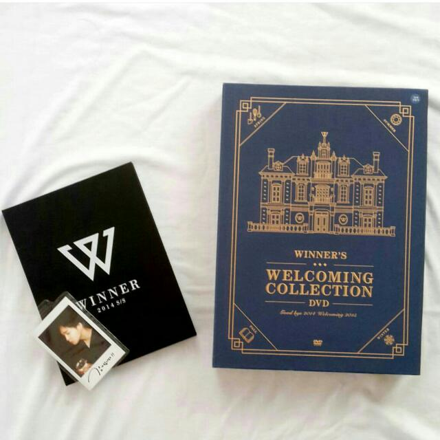 WINNER WELCOMING COLLECTION DVD