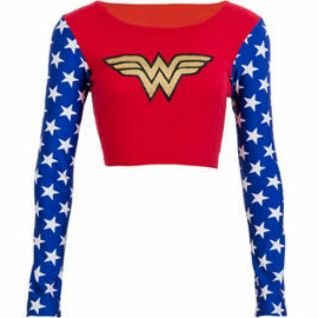Wonder Woman Crop Top