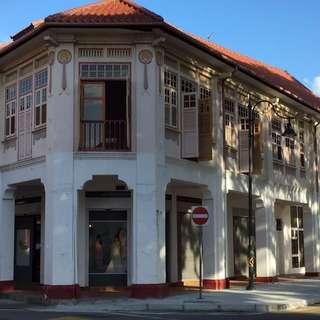Shophouse office rental in Joo Chiat