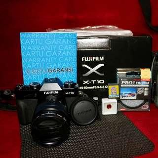 FUJIFILM XT-10 BLACK EDT