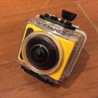 柯達Kodak sp360 Full HD 海陸版全配 /贈副廠電池/配件轉接頭 二手 購買不到2個月9.5成新/支援wifi/NFC 便宜出售