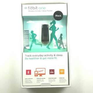 Fitbit One With Full Accessories