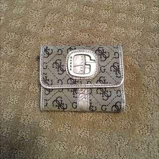 Grey Guess Wallet