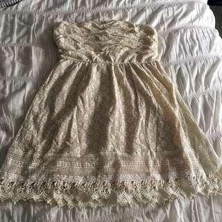 Delia's Cream Dress