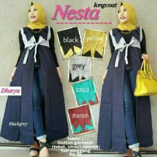Set Long Cardy NESTA 3 IN 1  ,ONLY  GREY