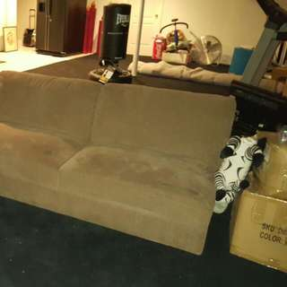 Large Sectional Couch With Ottoman