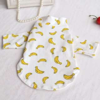 Banana suit clothes for dogs chi hua hua *brand new*