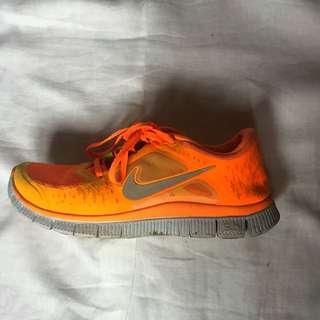 Nike Free Run 5.0 Fluro Orange