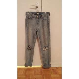 Garage Boyfriend Jeans