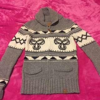 Grey TNA Sea-To-Sky Sweater