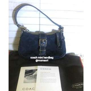 Coach Signature Mini Handbag