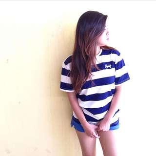 Stripes Blue Top