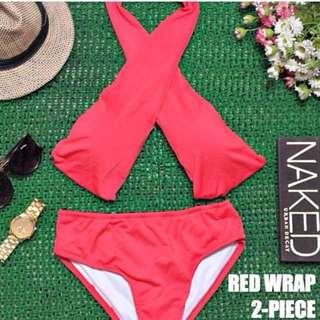 2 Piece Wrap Swimsuit