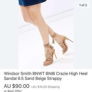 Windsor Smith Crazie Heels 8.5