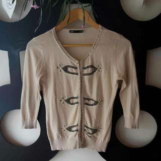 Dotti Antique Style Cardigan Size XS - S