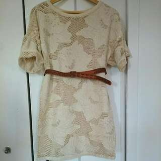 New H&M Sz 32/2 Tunic Dress