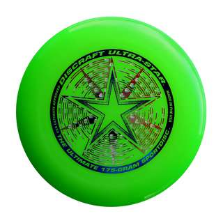 Green Discraft Ultrastar Flying Disc (Ultimate Frisbee Disc)