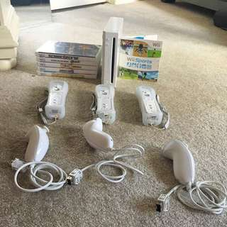 wii!! With Games