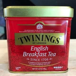 TWININGS 唐寧茶 英倫早餐茶