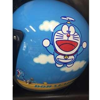 正版 哆啦a夢Doraemon 小叮噹全罩式安全帽