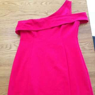 Size 14 Freya Hot Pink Forever new Dress