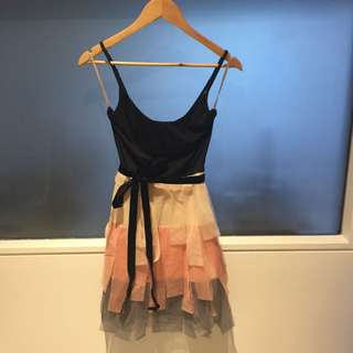 Cooper Street Tulle Layered Dress