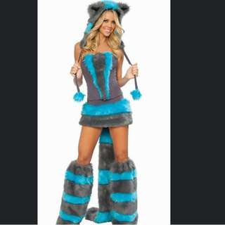 Furry Cheshire Cat Costume