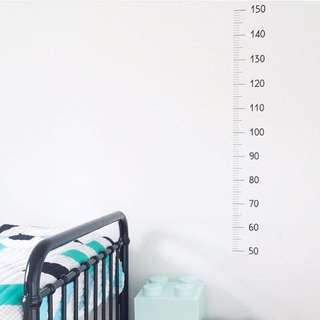 Height Chart Decal