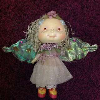 FAIRY CHINA DOLL WITH WINGS