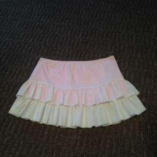 Pink & White Skirt