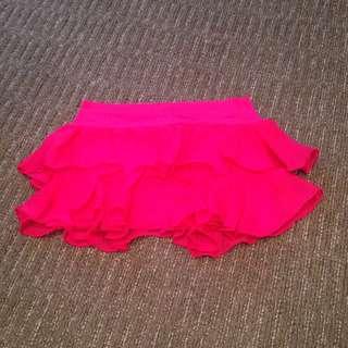 Dark Pink Skirt