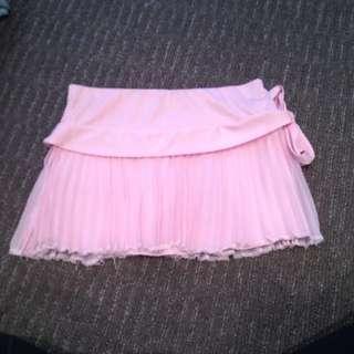 Ruffled Pink Skirt