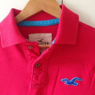 Hollister Red Polo short