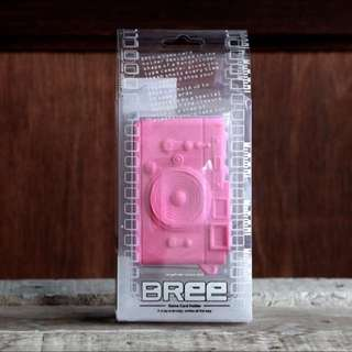 Pretty Pink Bree Camera-shaped Card Case