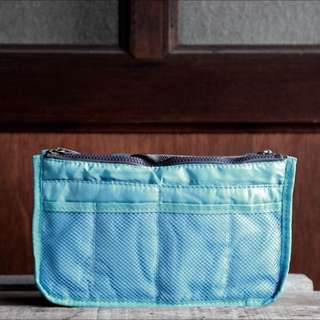 Baby Blue Bag Organizer