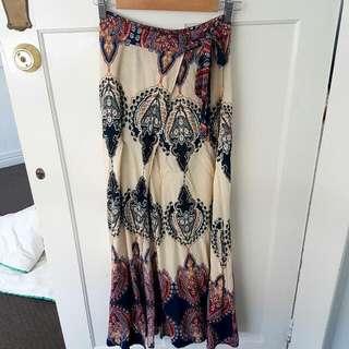 Naughts And Cross Maxi Skirt