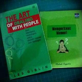 Buku 'The Art of Dealing with People' dan 'Memperkuat Memori'
