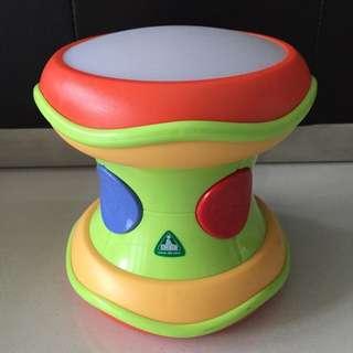Preloved ELC Light And Sound Drum