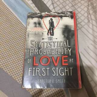 Reserved: The Statistical Probability Of Love At First Sight