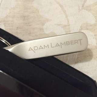 ADAM LAMBERT keychain