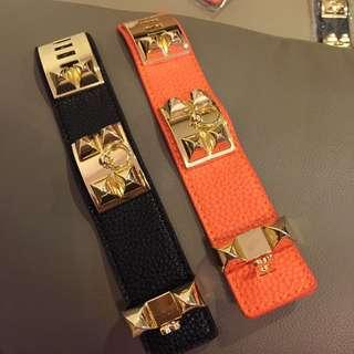 (CLEARANCE SALES) BN H Signature Studs Bracelet