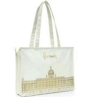 全新Harrods Tote Bag (清櫃平賣)