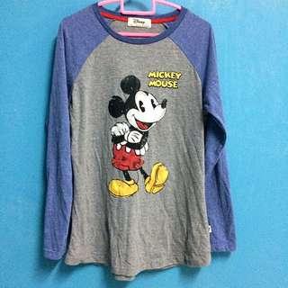 Long-sleeved Disney tshirt