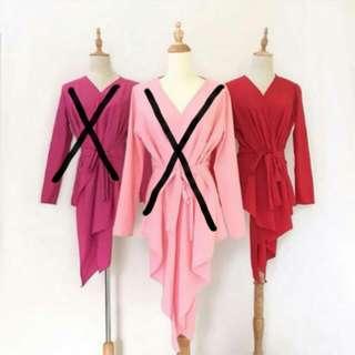 Kimono Wrap in Red