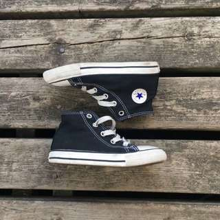 Kids Converse Black High Tops