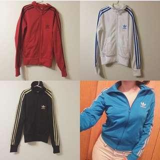 Adidas Sweater Zip Ups